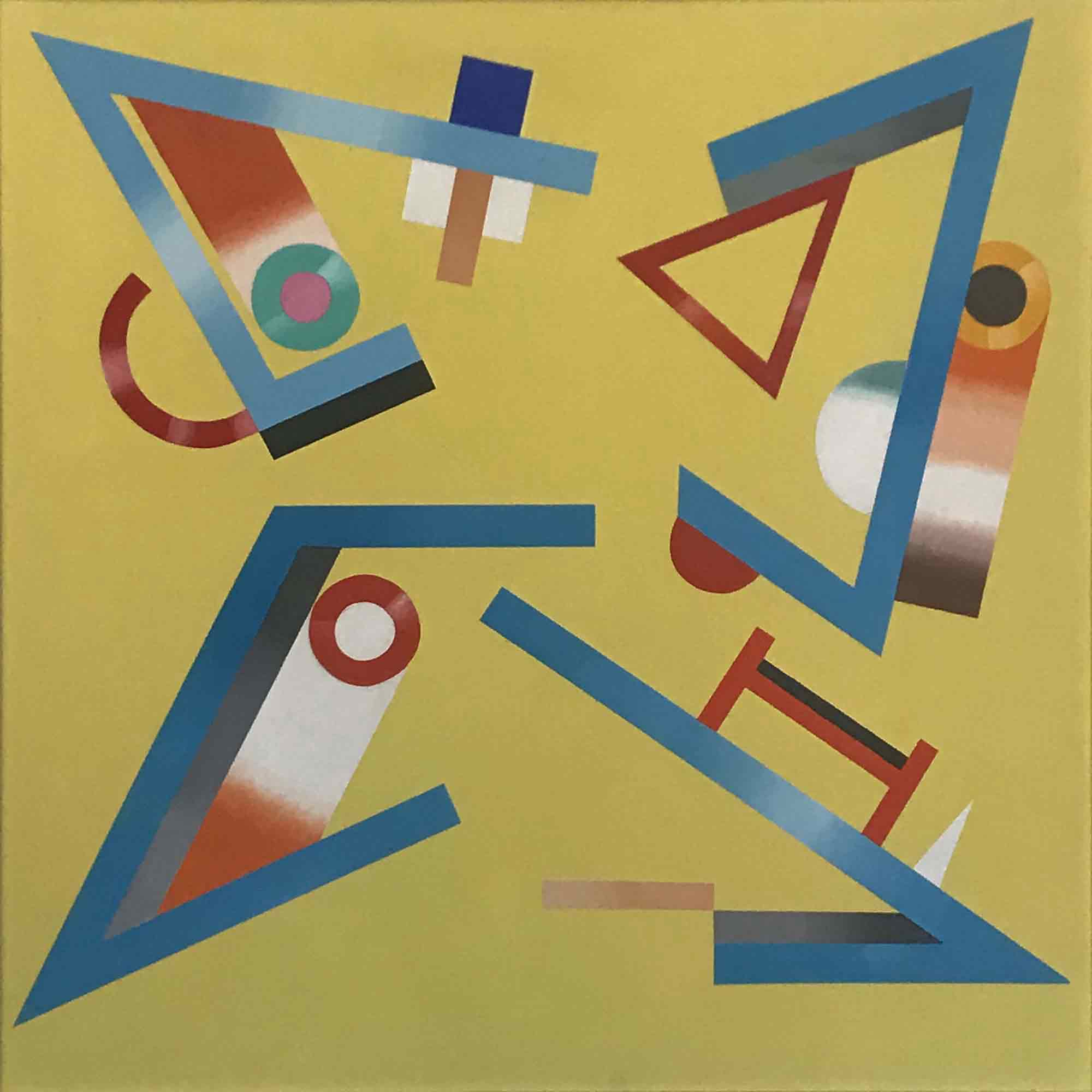 Jack Smith 'Fractured on Yellow' 1993